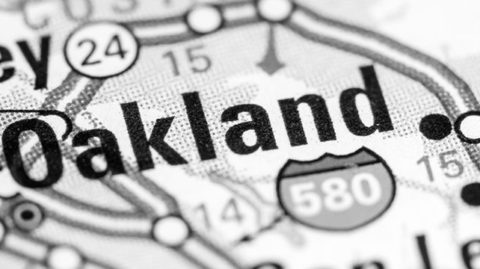 Violent Crime Down in Oakland for 2017