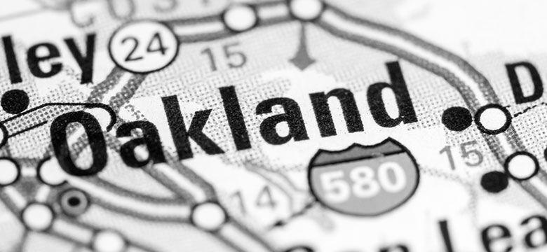 Violent Crime Down in Oakland for 2017
